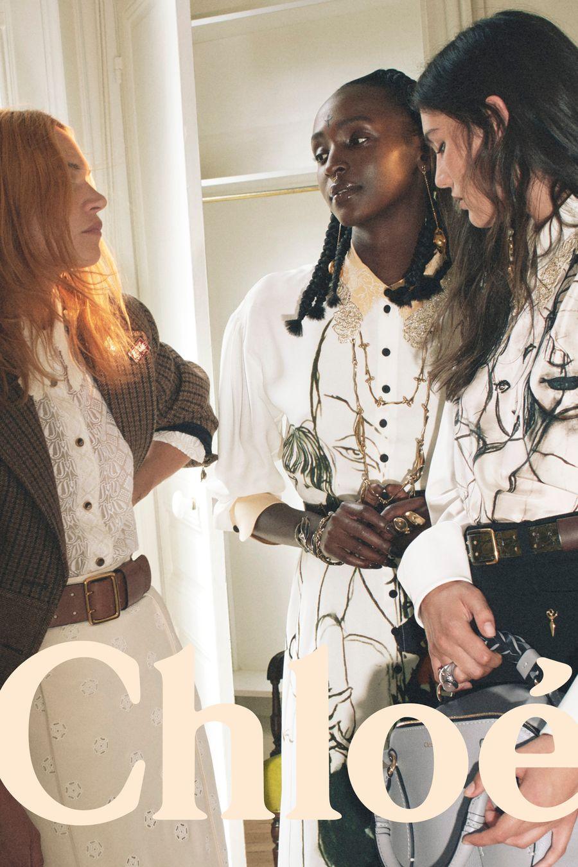 Chloe girls fall 2020 kempen fesyen baharu
