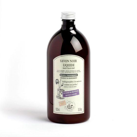 La Maison du Savon de Marseille, Black Liquid Soap - Lavender