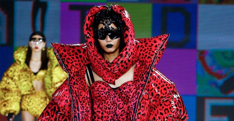 90an Dan Gaya Robot Dolce & Gabbana Fall 2021 RTW.