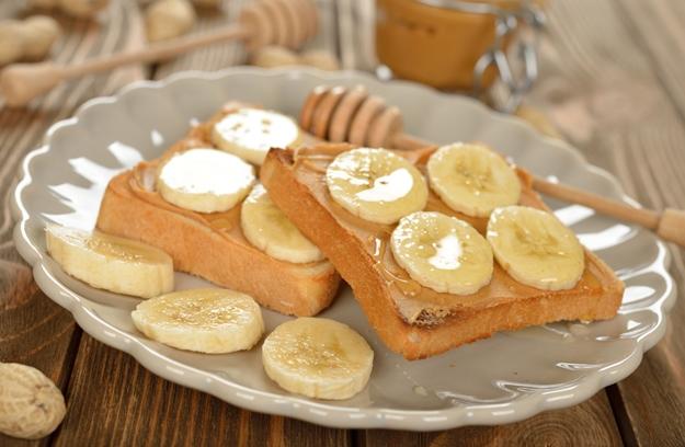 peanut butter & banana bread