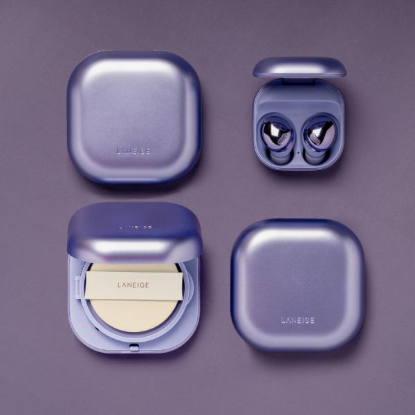 Dua jenama ikonik Korea menjalin kolaborasi, Laneige dan Samsung menggabungkan dua produk ikonik mereka untuk satu koleksi edisi terhad.