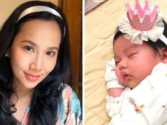 Selamat Bergelar Ibu, Dayana Roza Pilih Nama Paling Bermakna Buat Puteri Sulung
