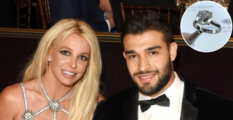 Makna Ukiran Istimewa Pada Cincin Pertunangan Britney Spears