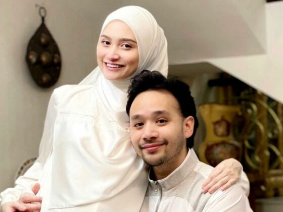 Ayda Jebat Dedah Wajah & Nama Puteri Sulung, Mata 'Baby Wuvv' Buat Ramai Terpesona